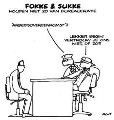 Fokke-Sukke-arbeidscontract